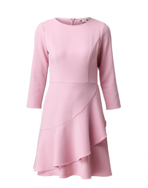 Shoshanna Tasha Pink Crepe Dress
