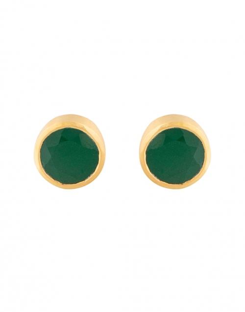 Dean Davidson - Green Onyx Signature Knockout Stud Earrings