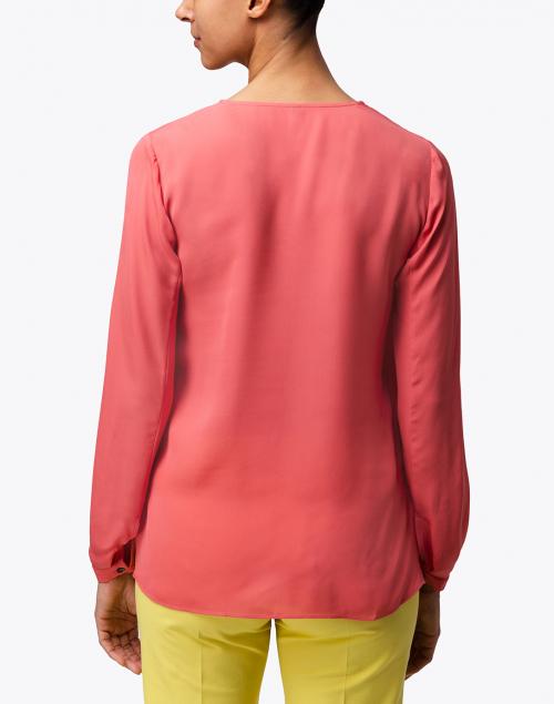 Kobi Halperin - Marissa Pink Silk Blouse