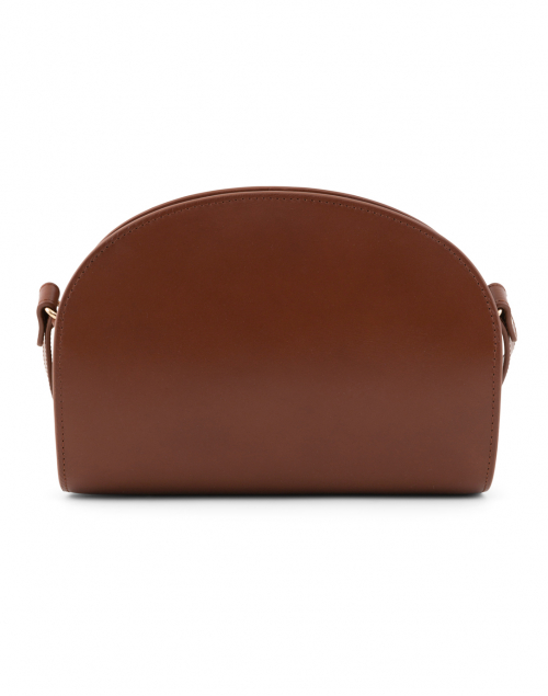 A.P.C. - Cognac Demi Lune Leather Crossbody Bag