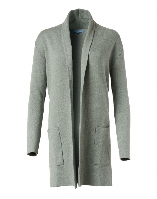 Burgess Poplar Green Cotton Cashmere Travel Coat