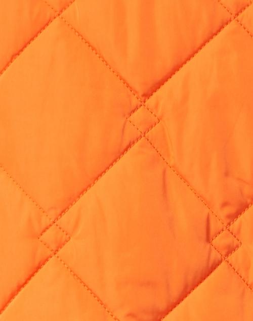 Jane Post - Lavender and Orange Reversible Quilted Short Jacket