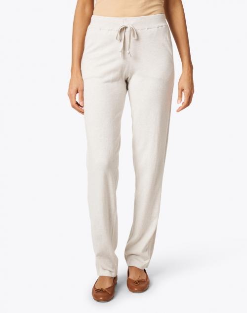 Kinross - Desert Beige Cotton Lounge Pant