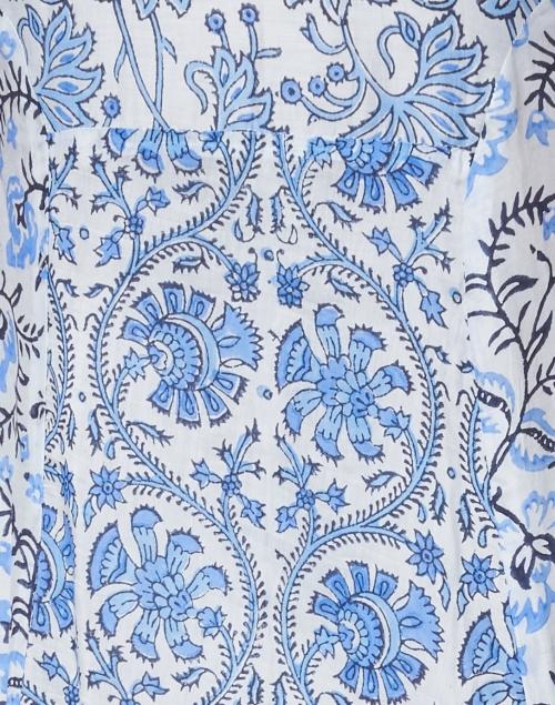 Bella Tu - Cora Marine Floral Block Printed Dress