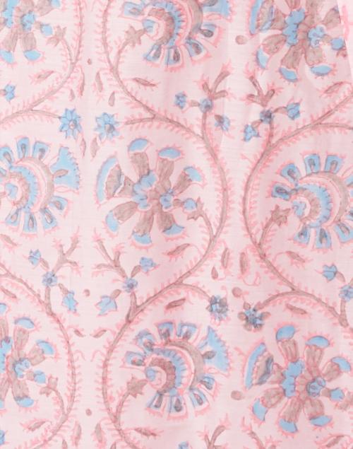 Bella Tu - Cora Pink Floral Block Printed Dress