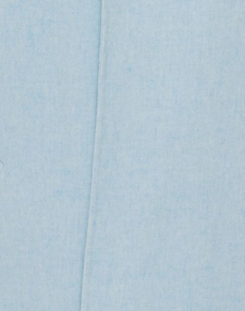 Kinross - Mist Pale Blue Wool Cashmere Coat