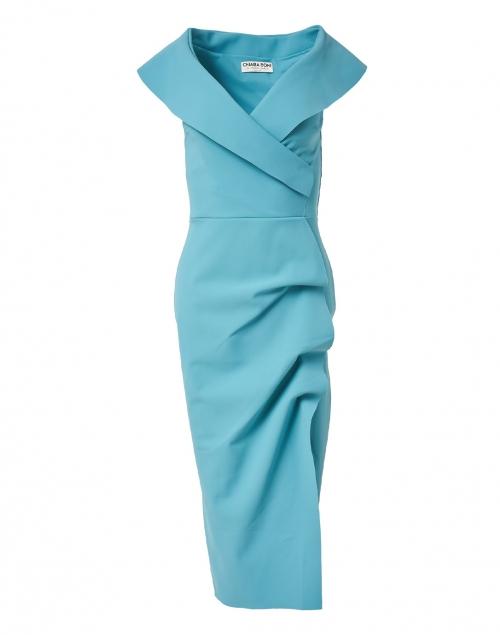 Chiara Boni La Petite Robe - Cerulean Stretch Jersey Dress