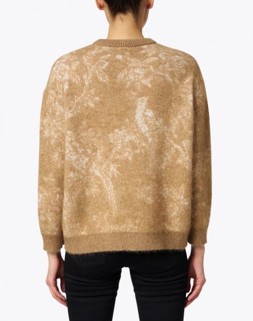 Max Mara Studio - Aller Camel Intarsia Wool and Mohair Sweater