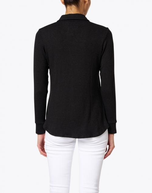 Southcott - Eastdale Black Cotton Modal Shirt