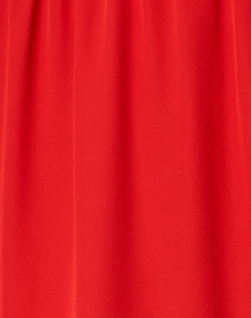 Kobi Halperin - Jade Crimson Red Silk Blouse
