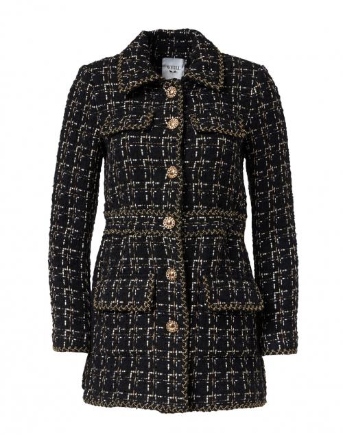 Weill - Marline Black Tweed Jacket
