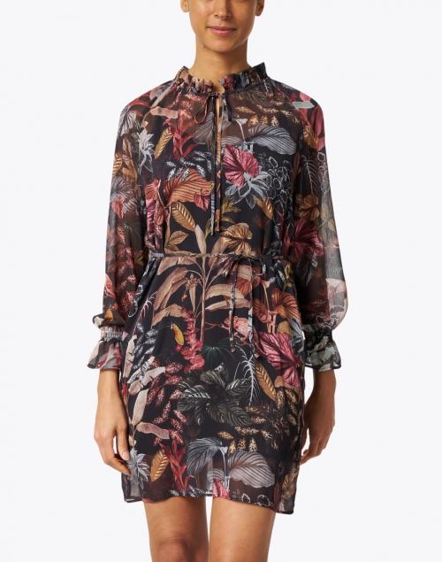 Vilagallo - Velma Leaf Print Dress