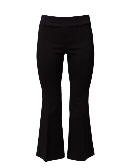 Fabrizio Gianni - Black Stretch Pull On Flared Crop Pant