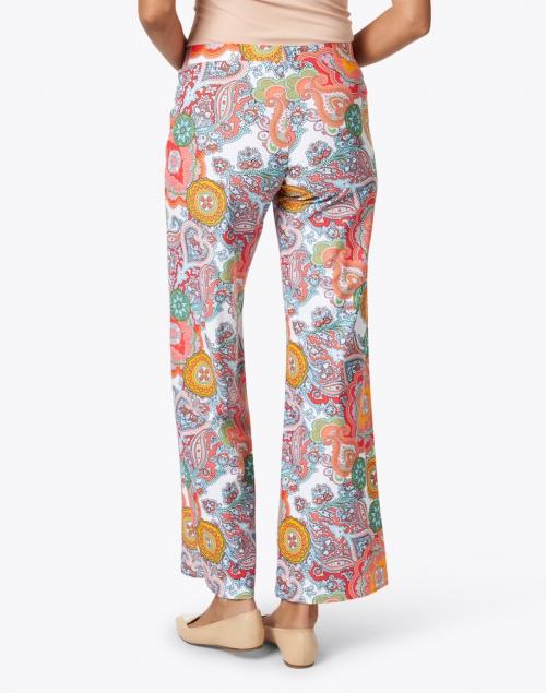 Jude Connally - Trixie Captiva Coral Paisley Print Pant