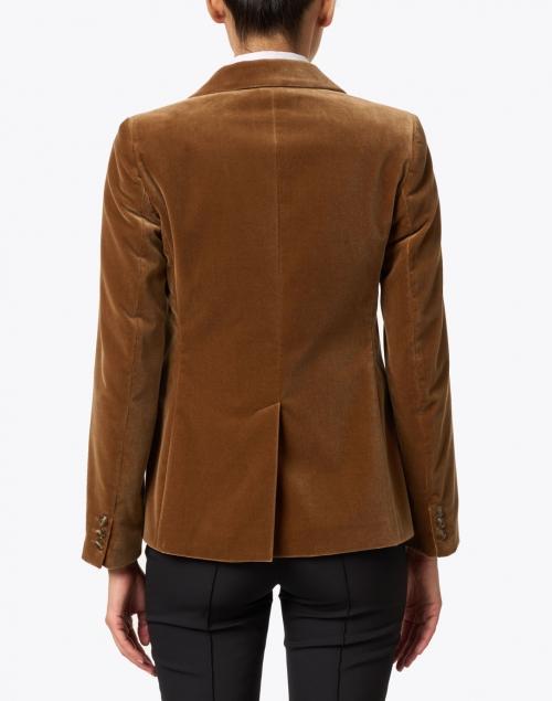 Weekend Max Mara - Falena Camel Cotton Velvet Blazer