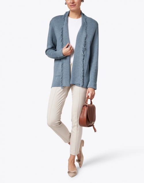 Cambio - Ros Stone Cotton Stretch Pant