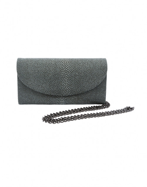 J Markell - Baby Grande Grey Stingray Clutch
