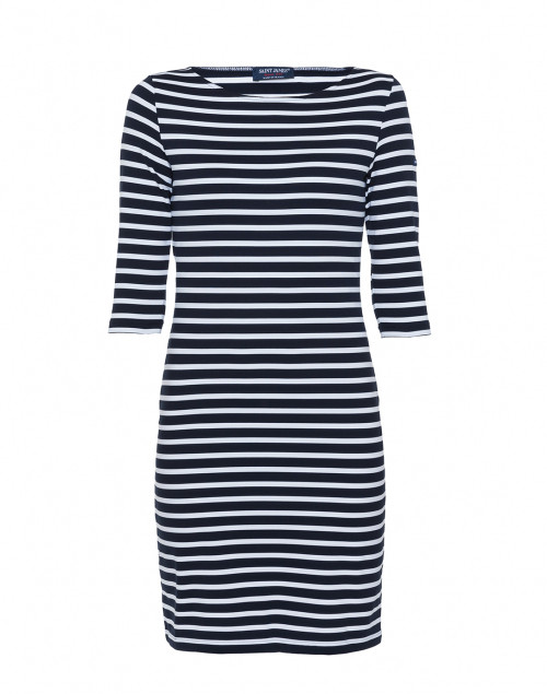 Saint James - Propriano Navy and White Striped Dress