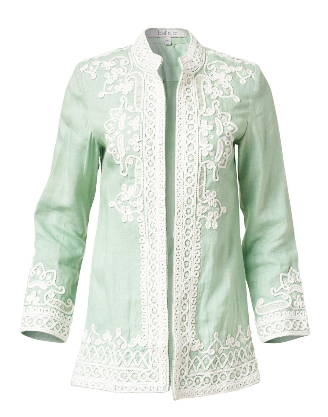 Tailored Embroider Color olive Regular fit INC Women Capri new 100/% Linen