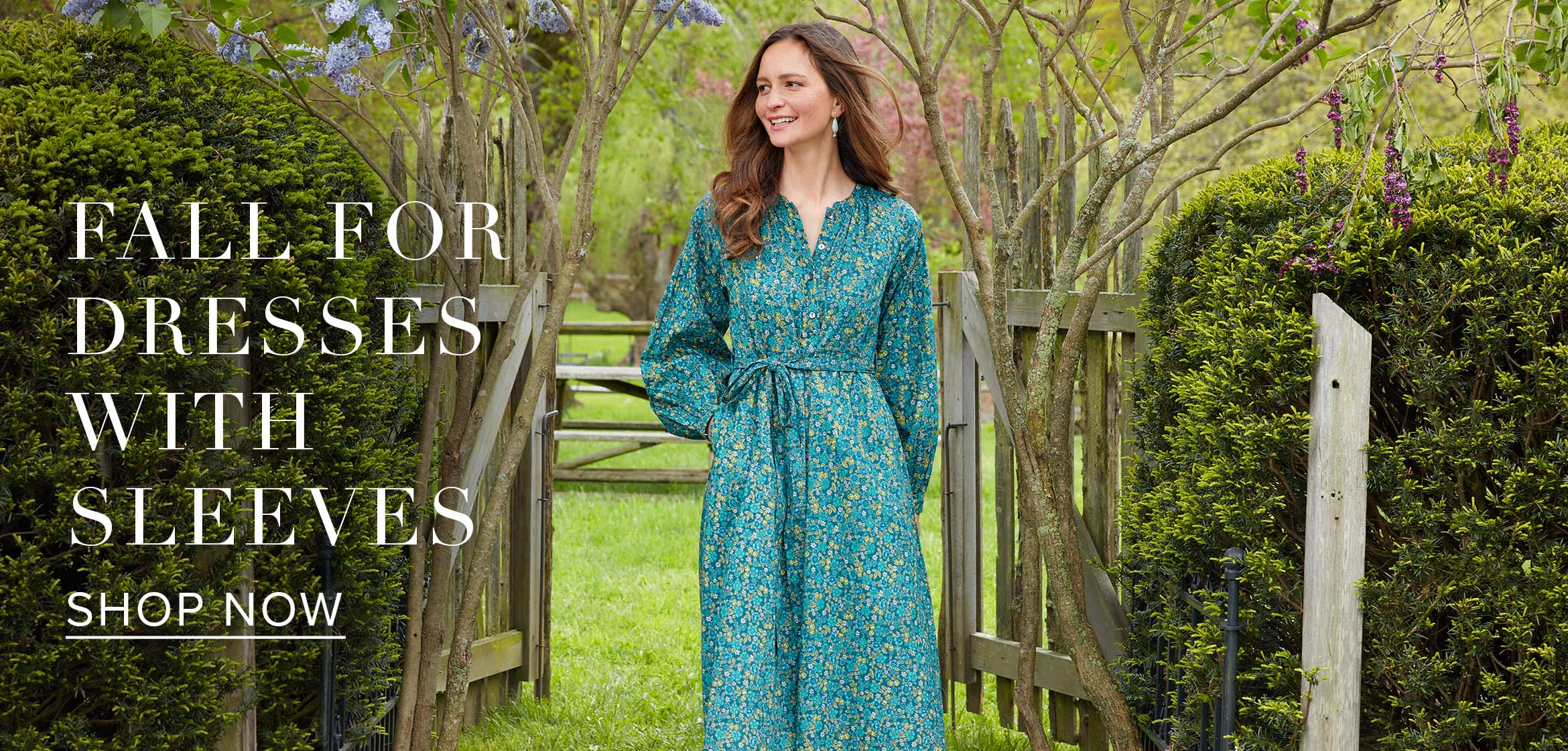 fall for dresses with sleeves