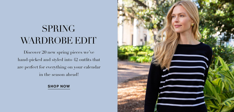 Spring Wardrobe Edit